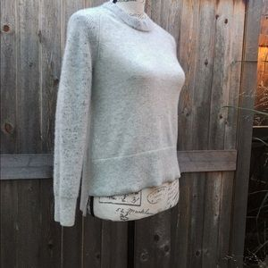 RAG & BONE Cashmere Crewneck Drop Hem Sweater XS